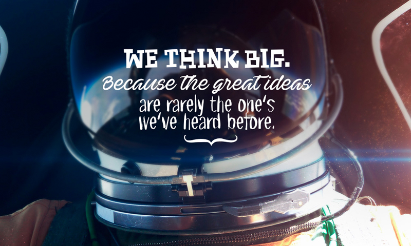 We Think Big