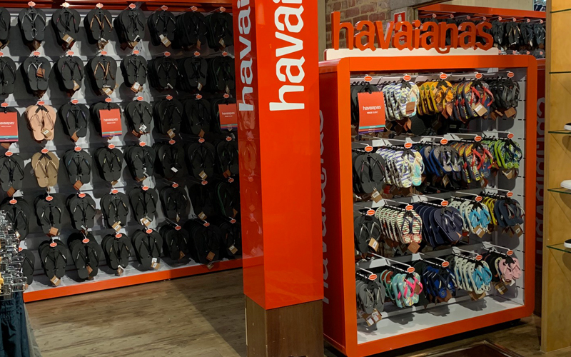 Havaianas Permanent Retail Display