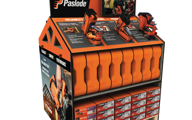 Paslode Interactive Retail Display