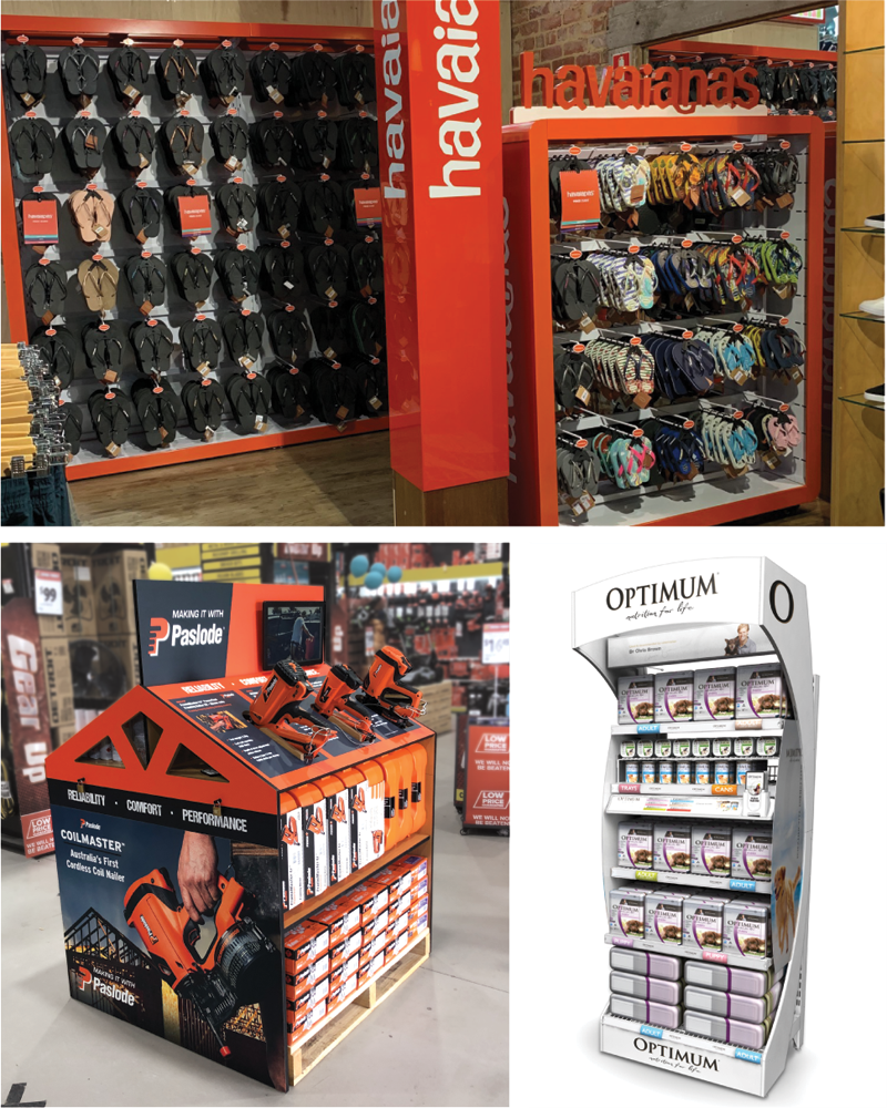 Permanent Retail Display Systems